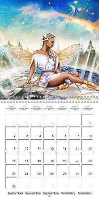 12 Zodiac Ladies (Wall Calendar 2019 300 × 300 mm Square) - Produktdetailbild 9