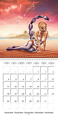 12 Zodiac Ladies (Wall Calendar 2019 300 × 300 mm Square) - Produktdetailbild 11