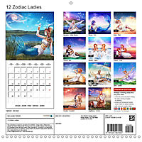 12 Zodiac Ladies (Wall Calendar 2019 300 × 300 mm Square) - Produktdetailbild 13