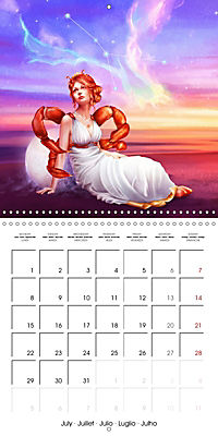 12 Zodiac Ladies (Wall Calendar 2019 300 × 300 mm Square) - Produktdetailbild 7