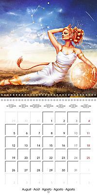 12 Zodiac Ladies (Wall Calendar 2019 300 × 300 mm Square) - Produktdetailbild 8