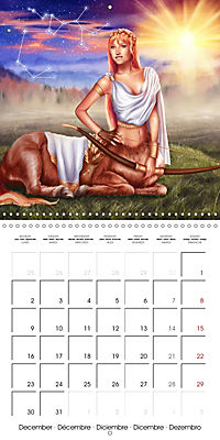 12 Zodiac Ladies (Wall Calendar 2019 300 × 300 mm Square) - Produktdetailbild 12