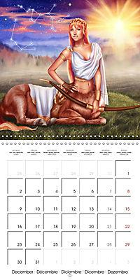 12 Zodiac Ladies (Wall Calendar 2019 300 × 300 mm Square) - Produktdetailbild 12