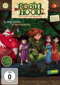 (13)Dvd Z.Tv-Serie-Es War Einmal In Nottingham, Robin Hood-Schlitzohr Von Sherwood