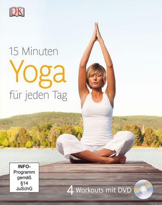 15 Minuten Yoga für jeden Tag, m. DVD