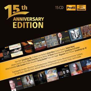 15th Anniversary Edition/15 Jahre Profil Medien, Diverse Interpreten