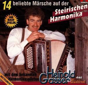 16 beliebte Märsche auf der Steirischen Harmonica, Heinold Gasser