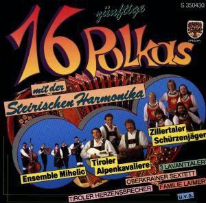 16 zünftige Polkas mit der Steirischen Harmonika, Diverse Interpreten