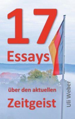 17 Essays über den aktuellen Zeitgeist, Uli Weber