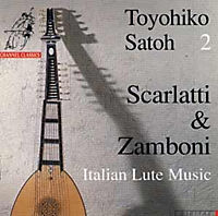 18th Century Italian Lute Music (Satoh Vol.2) - Produktdetailbild 1