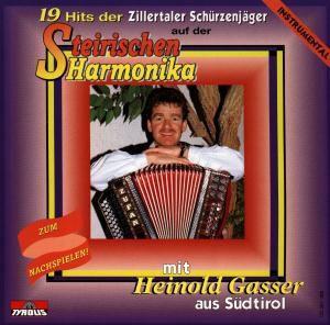 19 Hits der Zillertaler Schürzenjäger auf der Steirischen Harmonika (Instr.), Heinold Gasser