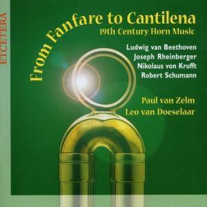 19th Century Horn Music, Paul Van Zelm, Leo Van Doeselaar