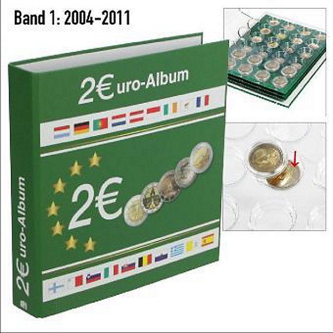 2 Euro Sammelalbum Band 1 2004 2011 Bestellen Weltbildde