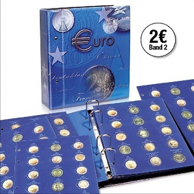2 Euromünzen Sammelalbum Topset Für Alle 2 Euro Münzen 2014 2015