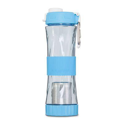 2 in 1 Trinkflasche blau, 500ml von VitalWorld
