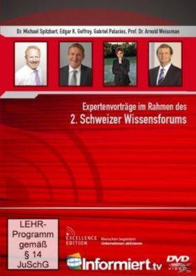 2. Schweizer Wissensforum, Edgar K. Geffroy, Dr. Michael Spitzbart, Prof. Dr. Arnold Weissman, Gabriel Palacios
