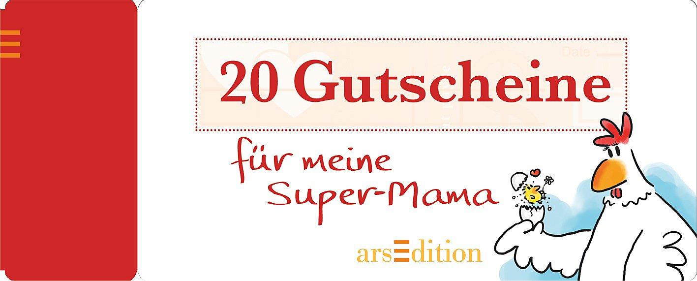 20 Gutscheine für meine Super-Mama bestellen | Weltbild.de