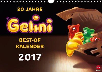 20 Jahre Gelini (Wandkalender 2017 DIN A4 quer), KIDDINX Media GmbH