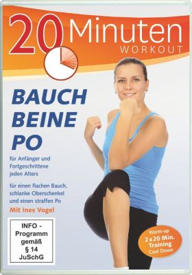 20 Minuten Workout - Bauch Beine Po, Ines Vogel