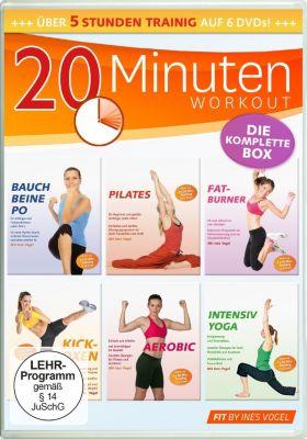 20 Minuten Workout - Die komplette Box, Ines Vogel