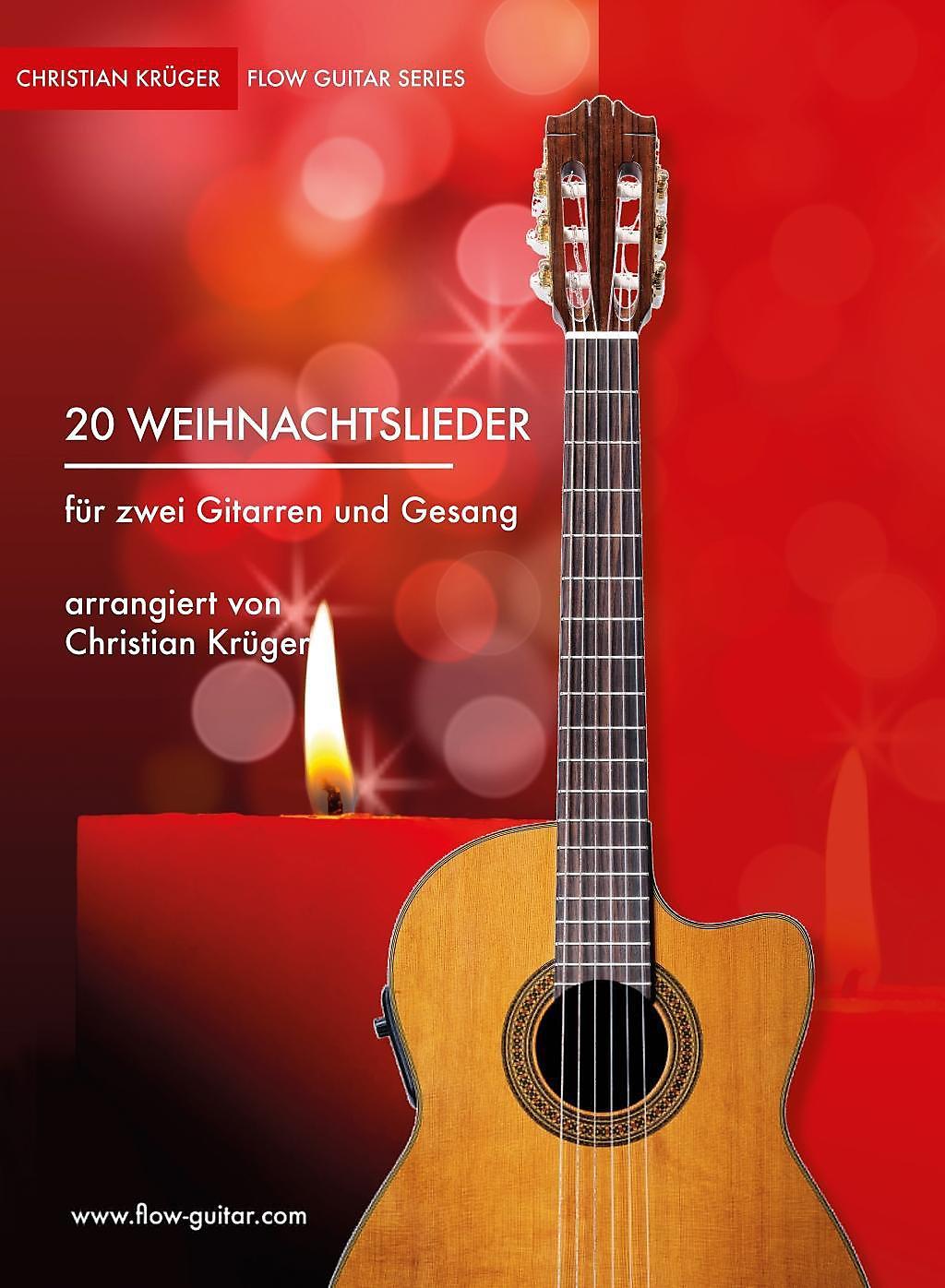 Weihnachtslieder Gesang.20 Weihnachtslieder Für Zwei Gitarren Und Gesang Buch Portofrei