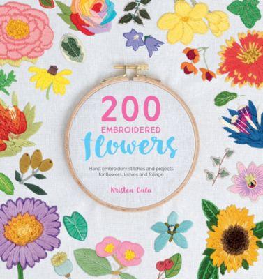 200 Embroidered Flowers, Kristen Gula