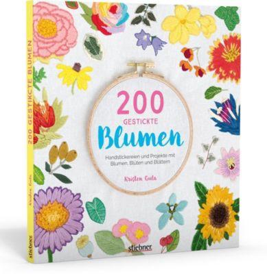 200 gestickte Blumen - Kristen Gula |