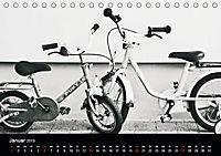 200 Jahre Fahrrad - Ausschnitte von Ulrike SSK (Tischkalender 2019 DIN A5 quer) - Produktdetailbild 1