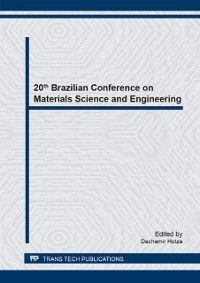 20th Brazilian Conference on Materials Science and Engineering