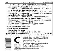 20th Century French Wind Trios - Produktdetailbild 1
