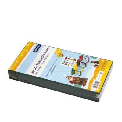 24 Adventsboxen zum Befüllen für Kinder