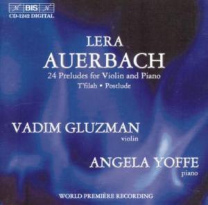 24 Präludien Für Violine Und K, Vadim Gluzman