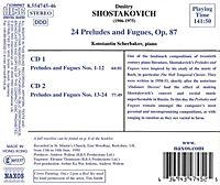 24 Präludien Und Fugen Op.87 - Produktdetailbild 1