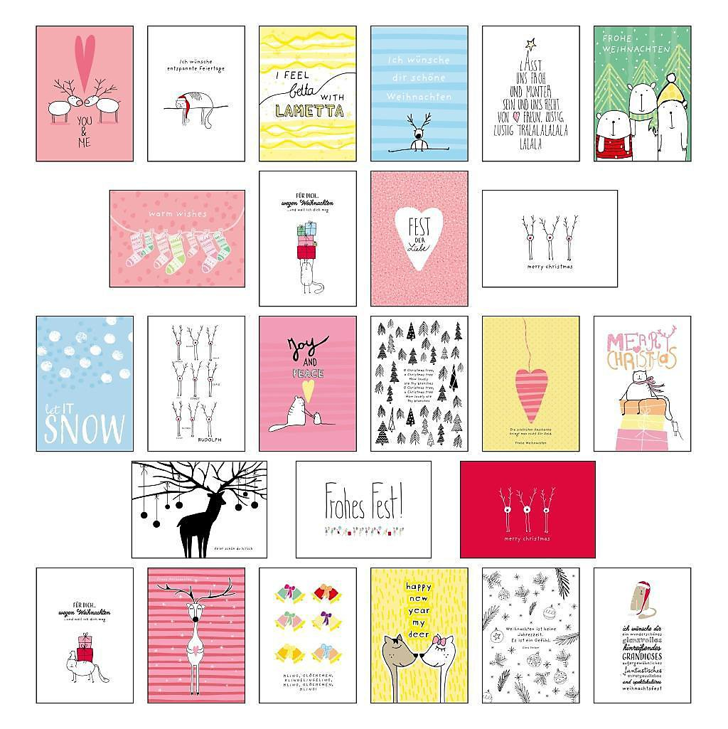 25 handgemachte Weihnachtskarten Buch bei Weltbild.de bestellen
