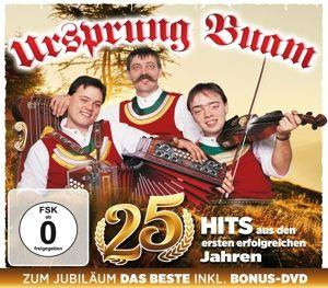 25 Jahre 25 Hits - Zum Jubiläum das Beste (CD+DVD), Ursprung Buam