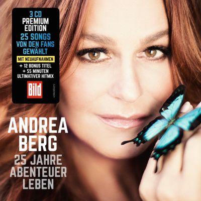 25 Jahre Abenteuer Leben (Limited Premium Edition, 3 CDs), Andrea Berg
