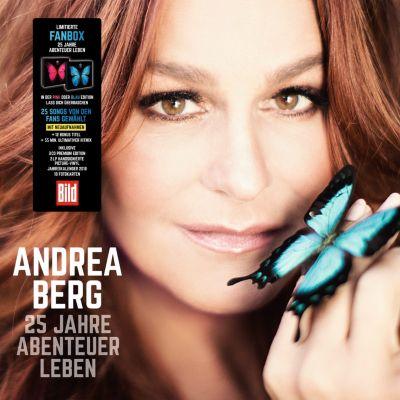 25 Jahre Abenteuer Leben (Limitierte Fanbox, 3 CDs + 2 LPs), Andrea Berg