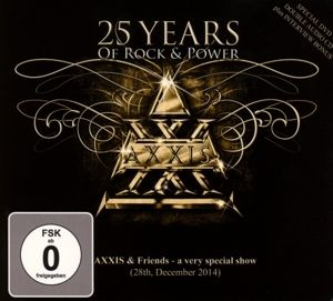 25 Years Of Rock And Power (Live DVD & 2CD), Axxis