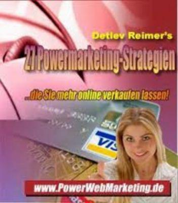 27 Powermarketing-Strategien, Detlev Reimer