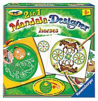 2in1 Mandala Designer Horses - Produktdetailbild 1