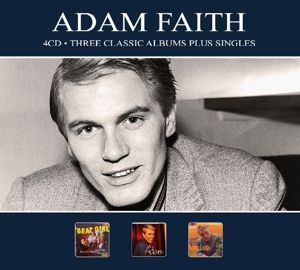 3 Classic Albums Plus Singles, Adam Faith