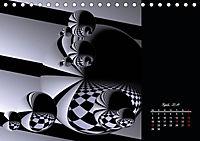 3 Dimensionen - 2 Farben (Tischkalender 2019 DIN A5 quer) - Produktdetailbild 4