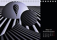 3 Dimensionen - 2 Farben (Tischkalender 2019 DIN A5 quer) - Produktdetailbild 2