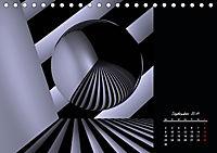 3 Dimensionen - 2 Farben (Tischkalender 2019 DIN A5 quer) - Produktdetailbild 9