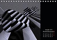 3 Dimensionen - 2 Farben (Tischkalender 2019 DIN A5 quer) - Produktdetailbild 11