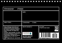 3 Dimensionen - 2 Farben (Tischkalender 2019 DIN A5 quer) - Produktdetailbild 13