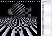 3 Dimensionen - 2 Farben (Tischkalender 2019 DIN A5 quer) - Produktdetailbild 10