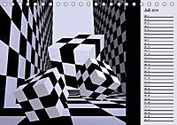 3 Dimensionen - 2 Farben (Tischkalender 2019 DIN A5 quer) - Produktdetailbild 7