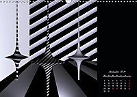 3 Dimensionen - 2 Farben (Wandkalender 2019 DIN A3 quer) - Produktdetailbild 4