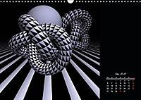 3 Dimensionen - 2 Farben (Wandkalender 2019 DIN A3 quer) - Produktdetailbild 8
